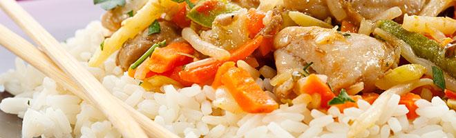 | Nudel- und Reisgerichte