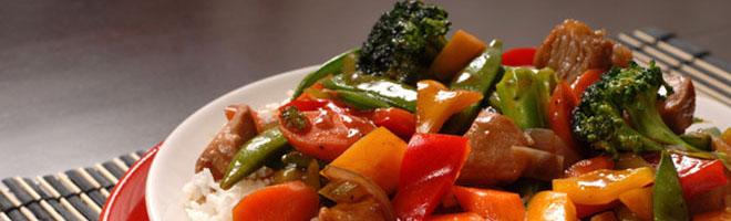 | Gemüsegerichte